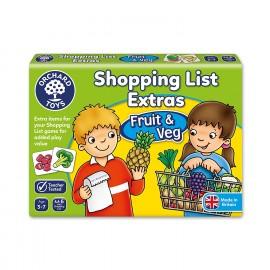Shopping List - Fruit & Veg
