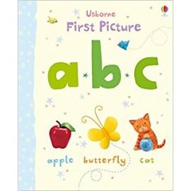 Usborne First Picture A B C