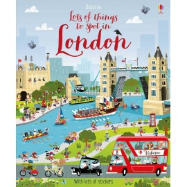 Usborne Lots of Things to Spot in London Sticker Book