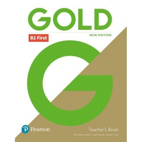 Gold B2 First New 2018 Edition Teacher's Book + DVD-ROM