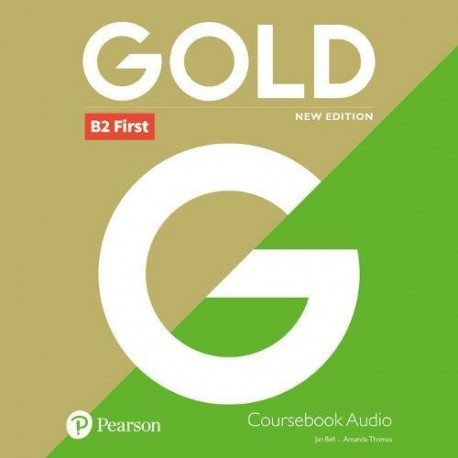 Gold B2 First New 2018 Edition Class Audio CDs