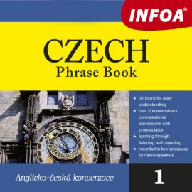 Czech Phrase Book + CD