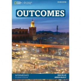 Outcomes Intermediate Second Edition Student's Book + Class DVD