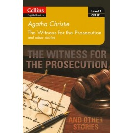 Collins English Readers 3 - The Witness for the Prosecution with CD