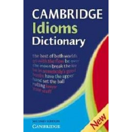 Cambridge Idioms Dictionary Second Edition (hardback)