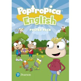 Poptropica English Starter - Level 5 Poster Pack