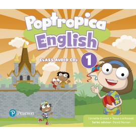 Poptropica English Level 1 Class Audio CDs