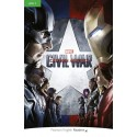 Pearson English Readers: Marvel's Captain America: Civil War Book + MP3 Audio CD