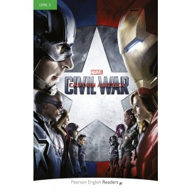 Marvel's Captain America: Civil War Book + MP3 Audio CD