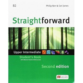 Straightforward Upper - Intermediate Second Ed. Student´s Book with Online Access Code & eBook