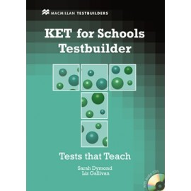 KET for Schools Testbuilder Student's Book with Key + CD Pack
