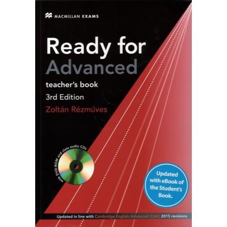 Ready for Advanced 3rd edition + eBook Teacher's Pack