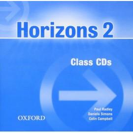 Horizons 2 Class Audio CDs (2)
