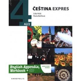 Čeština Expres 4 with English Appendix, Workbook + CD