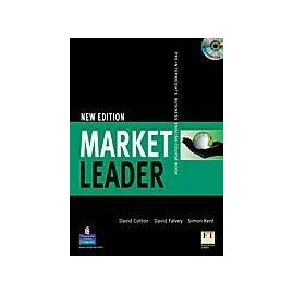 New Market Leader Pre-intermediate Course Book + CD-ROM + CDs