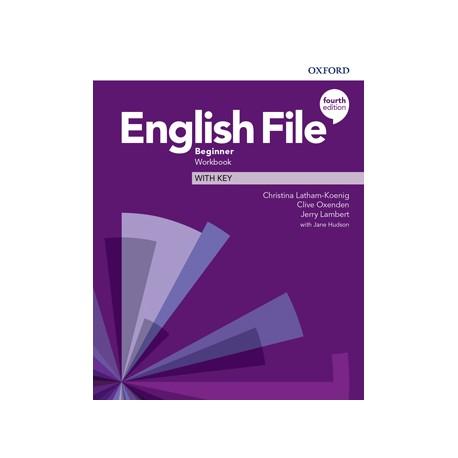 English File Fourth Edition Beginner Workbook With Key