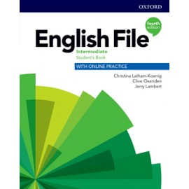 English File Fourth Edition Intermediate Student's Book s anglicko-českým slovníčkem a Online Practice