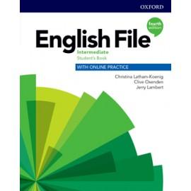 English File Fourth Edition Intermediate Student's Book s anglicko-českým slovníčkem a Online Practice
