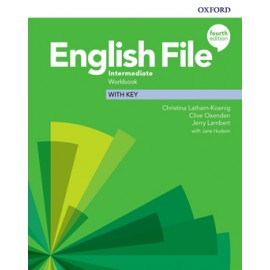 English File Fourth Edition Intermediate Workbook with Answer Key