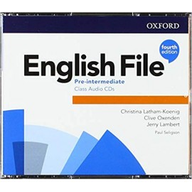 English File Fourth Edition Pre-Intermediate Class Audio CDs