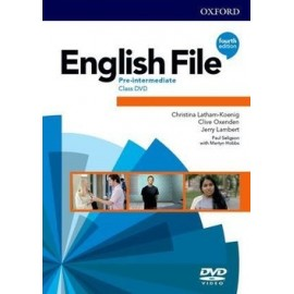 English File Fourth Edition Pre-Intermediate Class DVDs