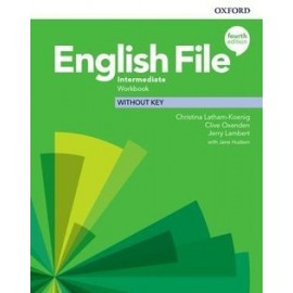 English File Fourth Edition Intermediate Workbook Without Key