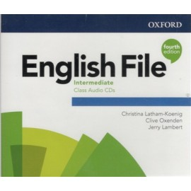English File Fourth Edition Intermediate Class Audio CDs