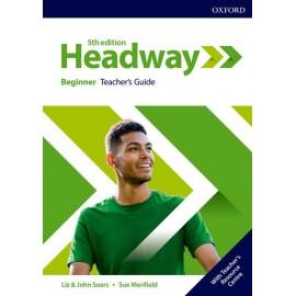 New Headway Fifth Edition Beginner Teacher's Book with Teacher's Resource Center