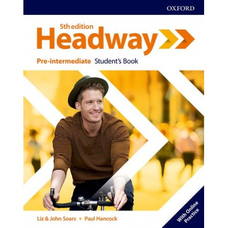 New Headway Fifth Edition Pre-Intermediate Student's Book with Online Practice