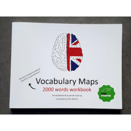 Vocabulary Maps 2000 words workbook - kreativní slovník