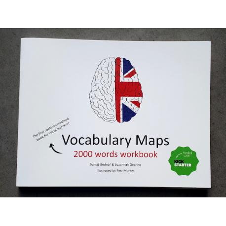 Vocabulary Maps 2000 words workbook - kreativní slovník