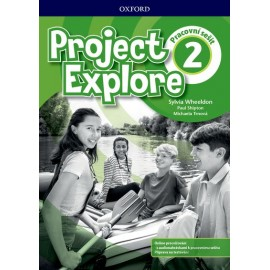 Project Explore 2 Workbook with Online Practice CZ