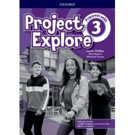 Project Explore 3 Workbook with Online Practice CZ