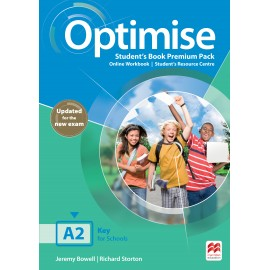 Optimise A2 Digital Student's Book Premium Pack - Update edition