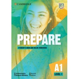 Prepare A1 Level 1 Second Edition Student's Book with Online Workbook