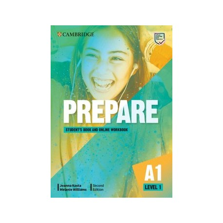 Prepare A1 Second Edition Student's Book with Online Workbook