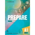 Prepare A1 Level 1 Second Edition Workbook with Audio Download
