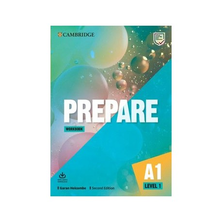 Prepare A1 Second Edition Workbook with Audio Download