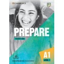 Prepare A1 Level 1 Second Edition Teacher's Book with Downloadable Resource Pack