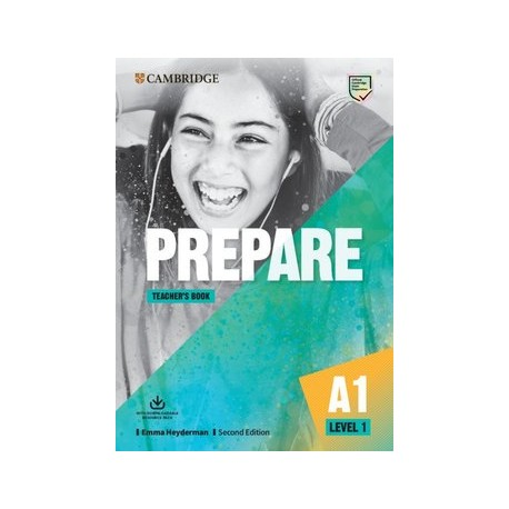 Prepare A1 Second Edition Teacher's Book with Downloadable Resource Pack