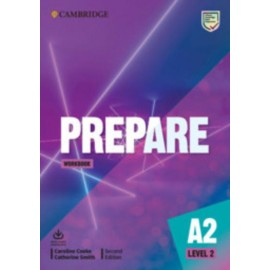 Prepare A2 Level 2 Second Edition Workbook with Audio Download