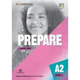 Prepare A2 Level 2 Second Edition Teacher's Book with Downloadable Resource Pack