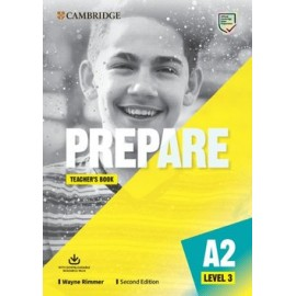 Prepare A2 Level 3 Second Edition Teacher's Book with Downloadable Resource Pack