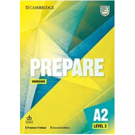 Prepare A2 Level 3 Second Edition Workbook with Audio Download