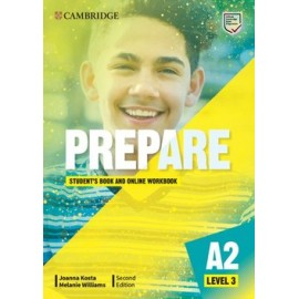 Prepare A2 Level 3 Second Edition Student's Book with Online Workbook