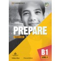 Prepare B1 Level 4 Second Edition Teacher's Book with Downloadable Resource Pack