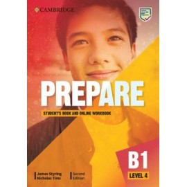 Prepare B1 Level 4 Second Edition Student's Book with Online Workbook