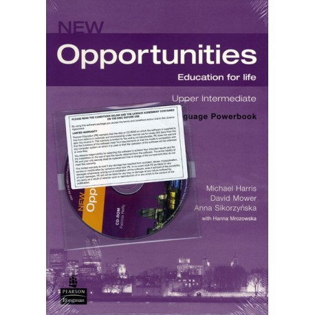 New Opportunities Upper-intermediate Language Powerbook + CD-ROM Longman 9781405837996