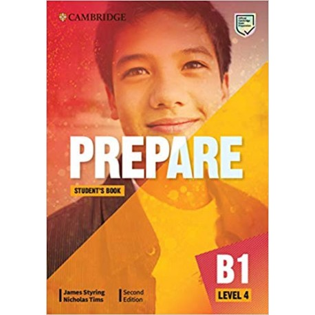 Prepare B1 Level 4 Second Edition Student's Book