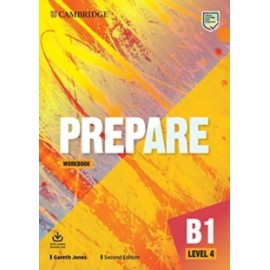 Prepare B1 Level 4 Second Edition Workbook with Audio Download